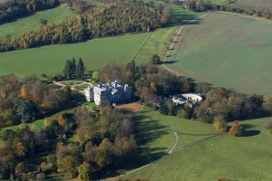 Arial photo of Ragley Hall